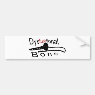 Dysfunktional Bone Bumper Sticker