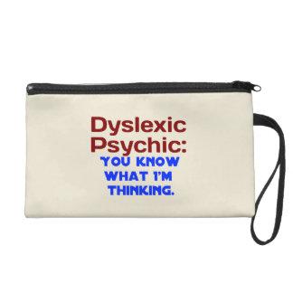 Dyslexic Psychic Wristlet Purse