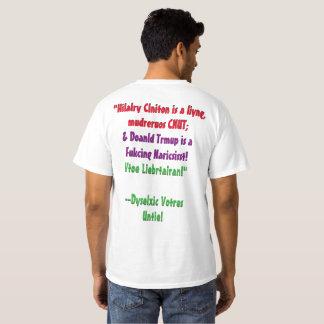 Dyslexic Voters Unite 2016! T-Shirt