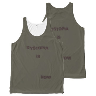 dystopia is now All-Over print tank top