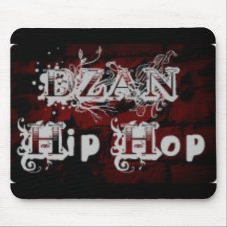 Dzan hip hop logo mouse pad