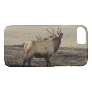 E0039 Bull Elk Bugling Iphone 8/7 phone case