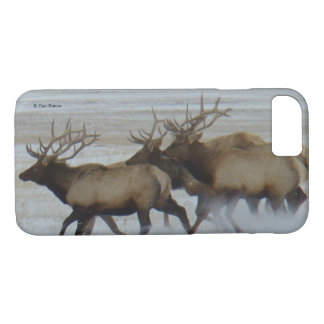 E0064 Bull Elk Running Iphone 8/7 phone case