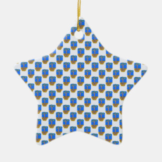 e1 ceramic ornament