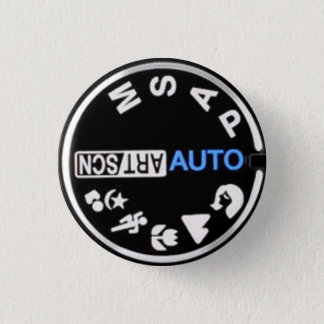 E30 Mode Dial 3 Cm Round Badge
