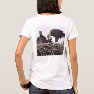 E7 & E8 SWFLEagleCam Logo'ed Women's Shirt