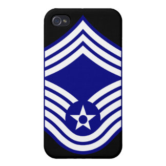 E9 CMSgt Chief Master Sergeant USAF iPhone 4 Cover