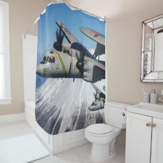e-2 hawkeye shower curtain