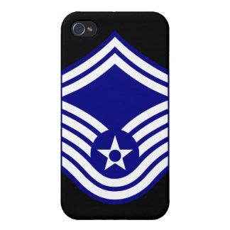 E-8 SMSgt Senior Master Sergeant USAF iPhone 4 Covers