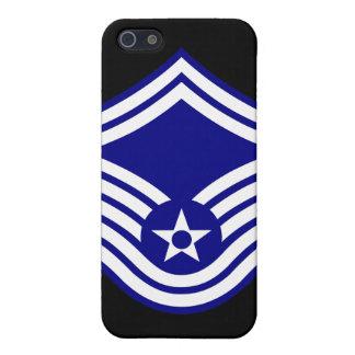 E-8 SMSgt Senior Master Sergeant USAF iPhone 5 Covers