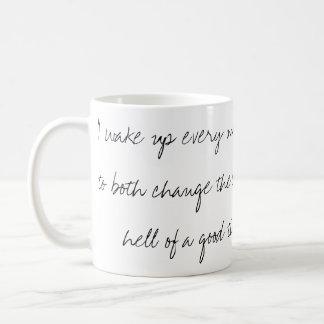 E.B. White Handwritten Quote Mug