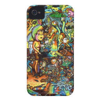 E Bent Psychedelic Art iPhone 4 Case