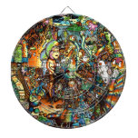 E Bent Psychedelic Art Dart Boards