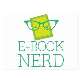 e-book nerd postcard