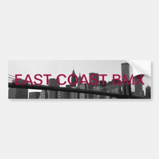 E.c.b sticker Brooklyn bridge Bumper Sticker