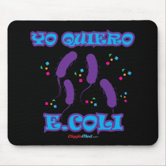E-coli Mouse Pad