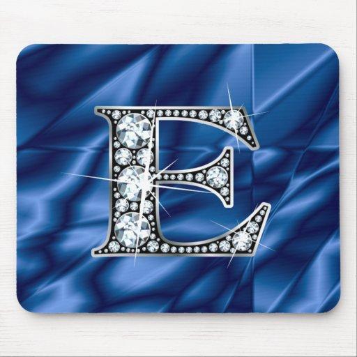 """E """"Diamond Bling"""" Mousepad"""