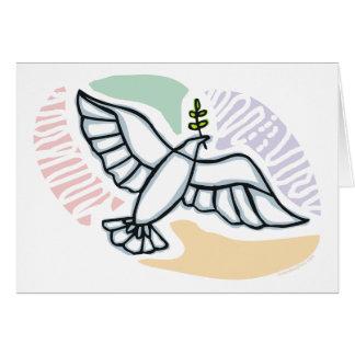 E - Dove of Peace Card