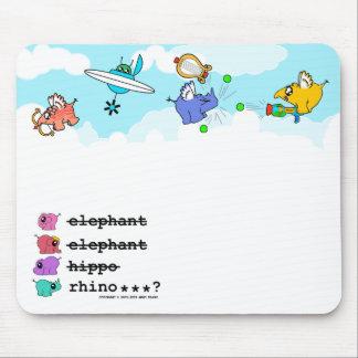 """e.e.h.r...? """"Little Angels"""" mousemat"""