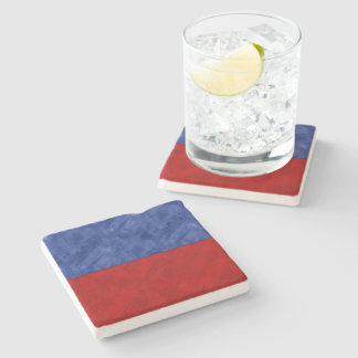 E Echo Watercolor Nautical Signal Maritime Flag Stone Coaster