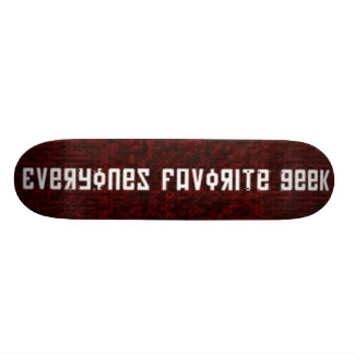 E.F.G. 20 CM SKATEBOARD DECK