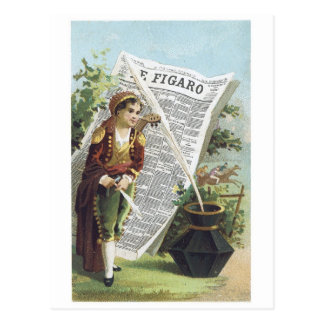 E Figaro Postcard