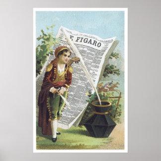 E Figaro Poster