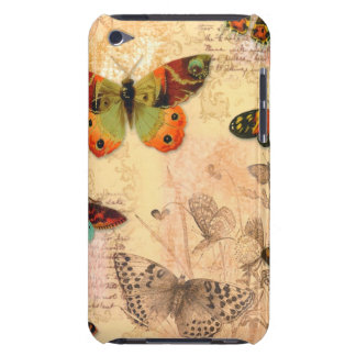 E iPod Touch Case w/ Beautiful Monarch Butterflies