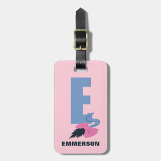 E is for Eeyore | Add Your Name Luggage Tag