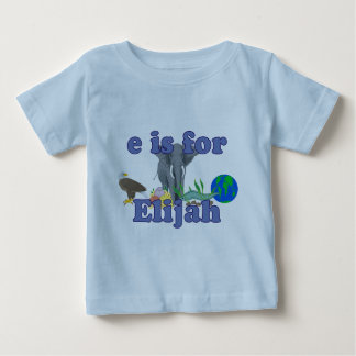 E is for Elijah Baby T-Shirt
