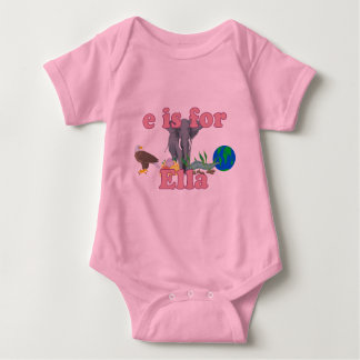 E is for Ella Baby Bodysuit