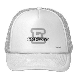 E is for Emmett Cap