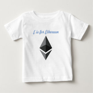 E is for Ethereum T-Shirt