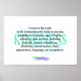 E.K.S. Kindness Poster