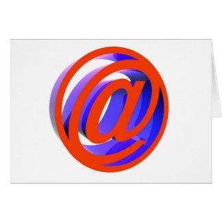 E-mail icon card