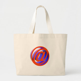 E-mail icon large tote bag
