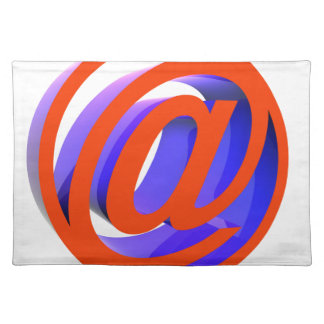 E-mail icon placemat