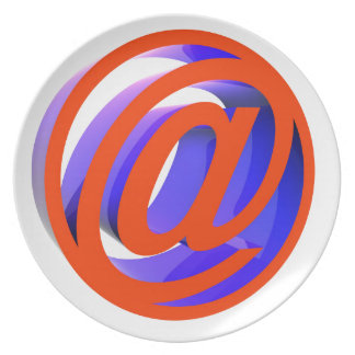 E-mail icon plate
