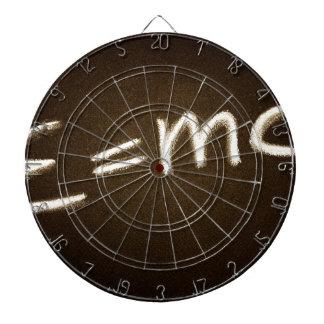 e=mc2... dartboard