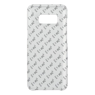 E=mc2 formula pattern, physics relativity theory uncommon samsung galaxy s8 case