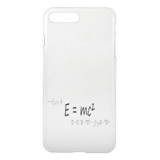 E=mc2 formula, physics relativity theory iPhone 7 plus case