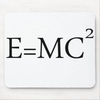 e=mc2 mouse pad