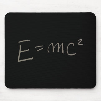 E=MC2 MOUSE PAD