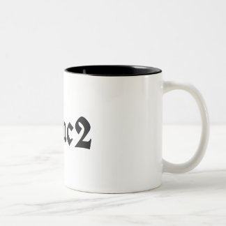 E=mc2 Two-Tone Coffee Mug