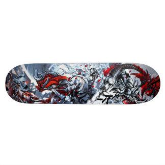 E = MC x WTF!!! - Sreet Art Sk8 Deck Skateboard Deck
