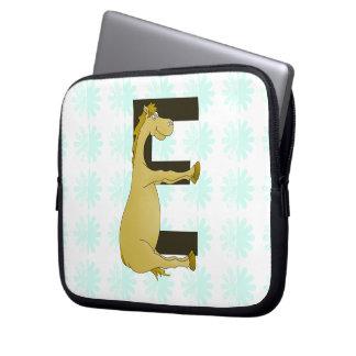 E Monogram Pony Computer Sleeves