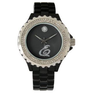"E Script Faux-""Diamond Bling"" Wrist Watches"