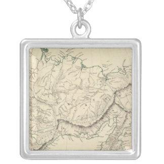 E Siberia Silver Plated Necklace