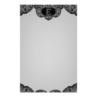 E - The Falck Alphabet (Silvery) Customised Stationery