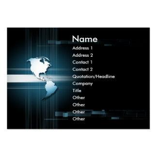 E world america business cards